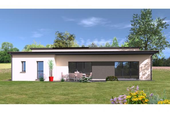Modèle de maison PP137_P1850V5 4 chambres  : Photo 1