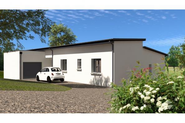 Modèle de maison PP137_P1850V5 4 chambres  : Photo 3