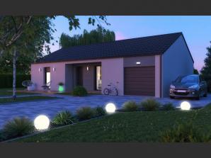 Maison neuve aux Étangs (57530)<span class='prix'> 215900 €</span> 215900