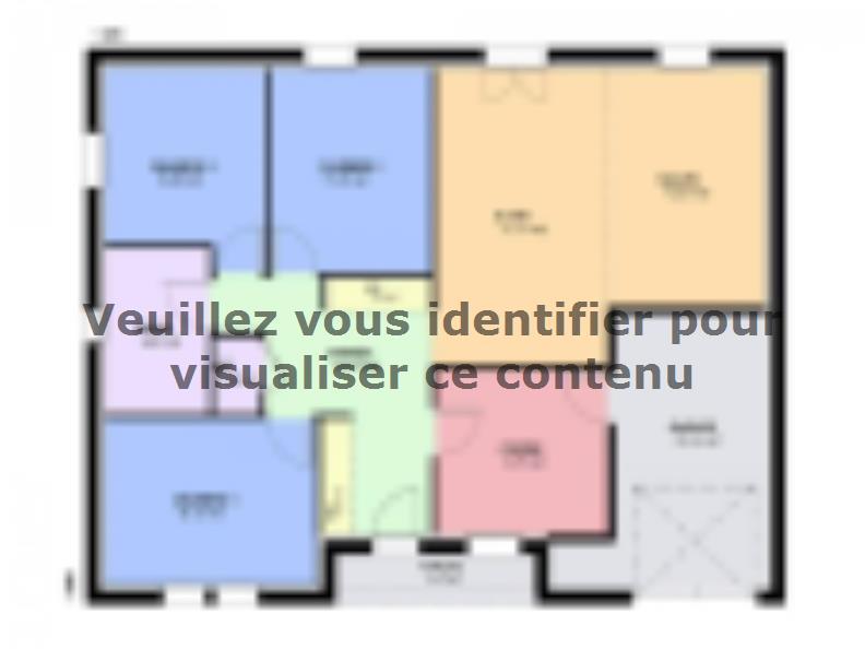 Maison neuve Les Étangs 219000 € * : vignette 1