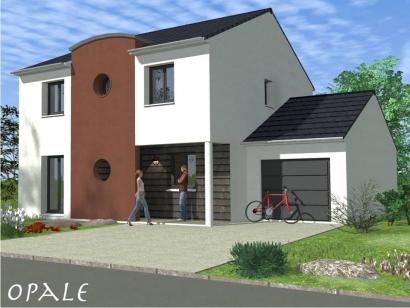 Maison neuve  aux  Étangs (57530)  - 259000 € * : photo 1