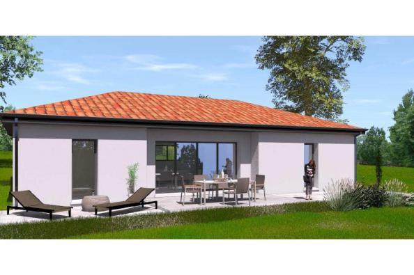 Modèle de maison PP94_P1952V3 3 chambres  : Photo 1
