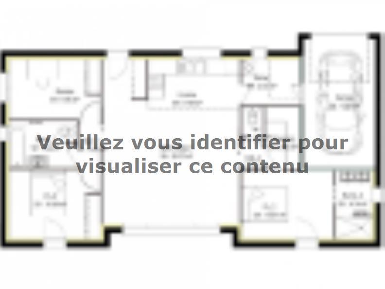 Plan de maison PP94_P1952V3 : Vignette 1