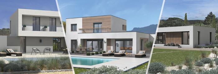 Les maisons au toit plat Maisons France Confort