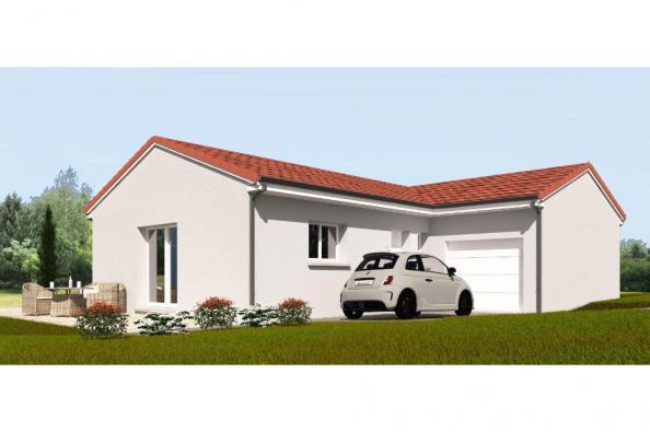 Modèle de maison PP90_P1992 3 chambres  : Photo 1