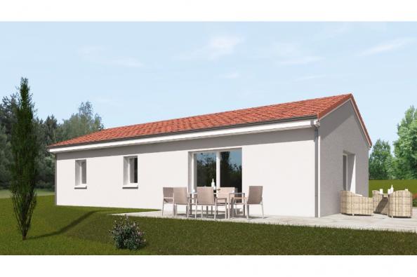 Modèle de maison PP90_P1992 3 chambres  : Photo 2