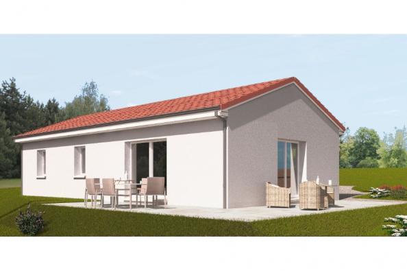 Modèle de maison PP90_P1992 3 chambres  : Photo 3
