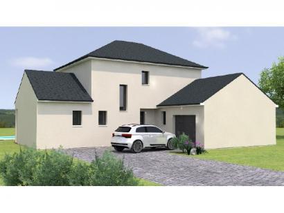 Modèle de maison R119125-3GI 4 chambres  : Photo 1