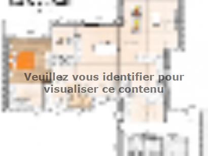 Plan de maison R119125-3GI 4 chambres  : Photo 1