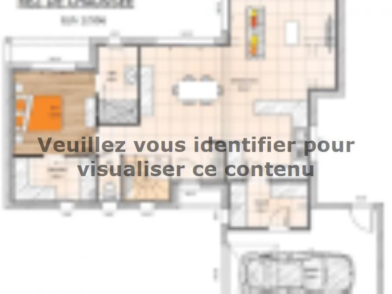 Plan de maison R119125-3GI : Vignette 1