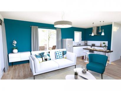 Modèle de maison Vente maison 95 m² - 3 CH - Garage - Villa LES RUL 3 chambres  : Photo 2
