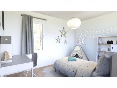 Modèle de maison Vente maison 95 m² - 3 CH - Garage - Villa LES RUL 3 chambres  : Photo 3