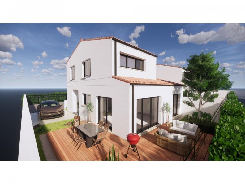 Modèle de maison Vente maison 95 m² - 3 CH - Garage - Villa LES RUL : Vignette 1