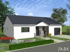 Maison neuve à Bionville-sur-Nied (57220)<span class='prix'> 189900 €</span> 189900