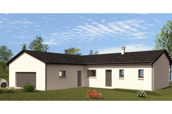 Modèle de maison PP130_P1966V6 4 chambres  : Photo 1