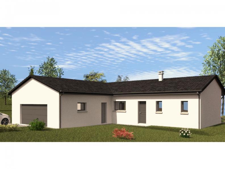 Modèle de maison PP130_P1966V6 : Vignette 1
