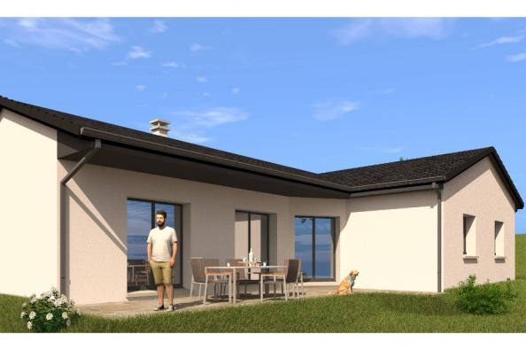 Modèle de maison PP130_P1966V6 4 chambres  : Photo 2