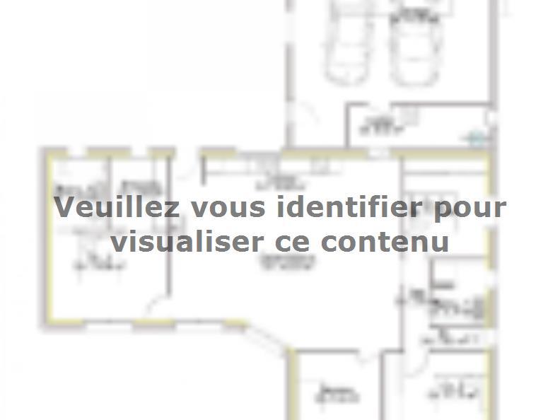 Plan de maison PP130_P1966V6 : Vignette 1