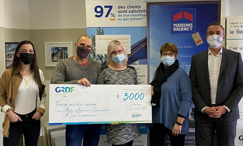 Gagnants jeu concours GRDF