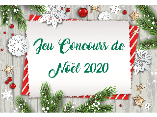Jeu Concours de Noël 2020 Maisons Les Naturelles