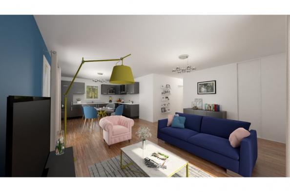 Modèle de maison PT_PP_3_75_GEF_Nord 3 chambres  : Photo 2