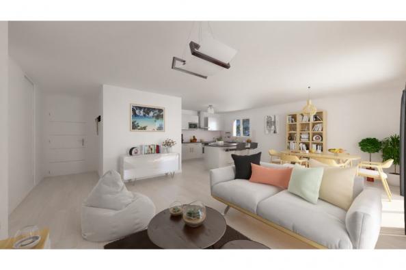 Modèle de maison PT_PP_3_85_GAENL_Sud 3 chambres  : Photo 2