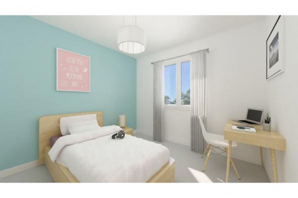 Modèle de maison PT_PP_3_85_GAENL_Sud 3 chambres  : Photo 5
