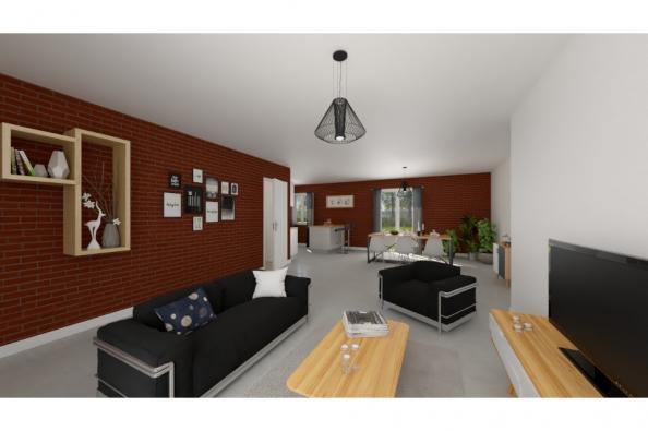 Modèle de maison PT_PP_3_85_GEF_Nord 3 chambres  : Photo 2
