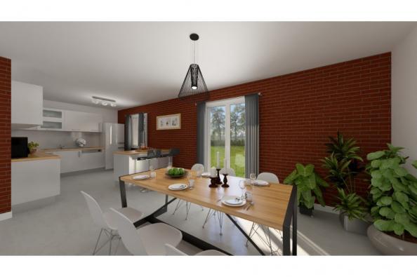 Modèle de maison PT_PP_3_85_GEF_Sud 3 chambres  : Photo 2