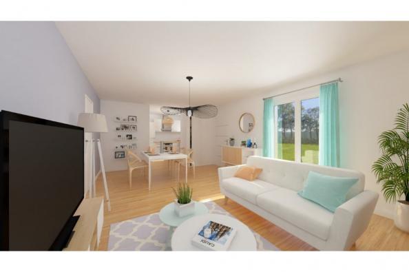 Modèle de maison PT_PP_2_65_SG_Nord 2 chambres  : Photo 2