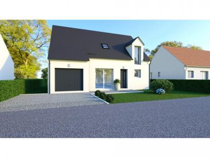 Maison neuve  à  Thilouze (37260)  - 205500 € * : photo 1