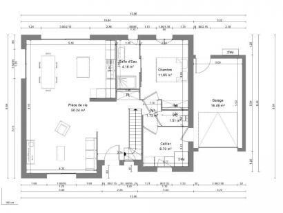 Maison neuve  à  Monts (37260)  - 266000 € * : photo 3