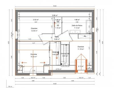 Maison neuve  à  Monts (37260)  - 266000 € * : photo 4