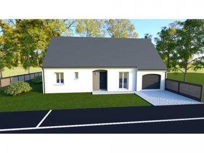 Maison neuve  à  Saint-Antoine-du-Rocher (37360)  - 200324 € * : photo 1