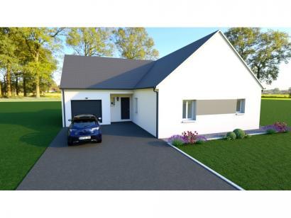 Maison neuve  à  Saint-Antoine-du-Rocher (37360)  - 223649 € * : photo 1