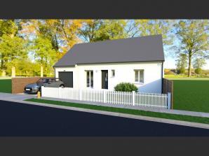 Maison neuve à Saint-Antoine-du-Rocher (37360)<span class='prix'> 175980 €</span> 175980
