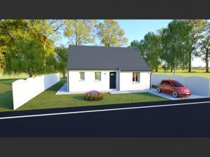 Maison neuve à Saint-Antoine-du-Rocher (37360)<span class='prix'> 155315 €</span> 155315