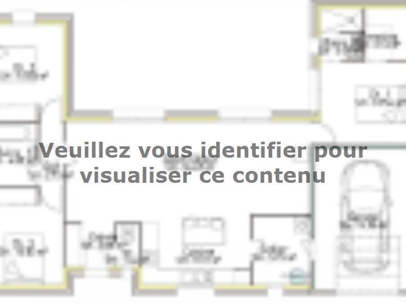 Plan de maison PP103__P2003V2 : Vignette 1