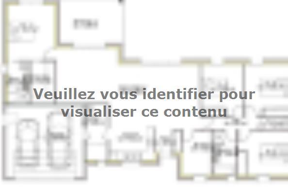 Plan de maison PP151_P2005V2 4 chambres  : Photo 1