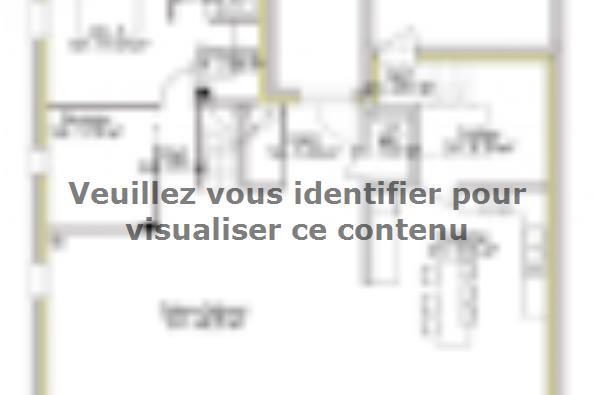 Plan de maison PPE154_P1794V9 4 chambres  : Photo 1