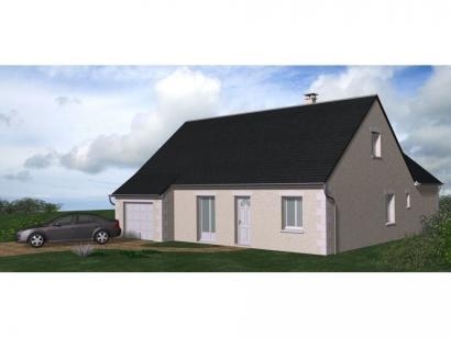 Maison neuve  à  Saint-Antoine-du-Rocher (37360)  - 210400 € * : photo 1