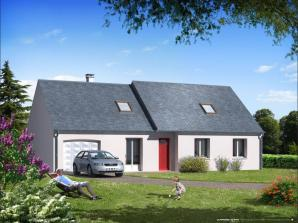 Maison neuve à Saint-Antoine-du-Rocher (37360)<span class='prix'> 191245 €</span> 191245