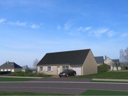 Maison neuve  à  Saint-Antoine-du-Rocher (37360)  - 204550 € * : photo 1