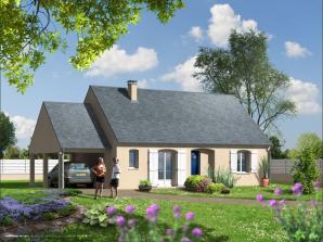 Maison neuve à Saint-Antoine-du-Rocher (37360)<span class='prix'> 169841 €</span> 169841