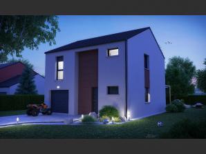 Maison neuve à Pournoy-la-Chétive (57420)<span class='prix'> 209000 €</span> 209000
