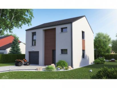 Maison neuve  à  Pournoy-la-Chétive (57420)  - 209000 € * : photo 3