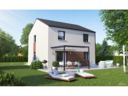 Maison neuve  à  Pournoy-la-Chétive (57420)  - 209000 € * : photo 4