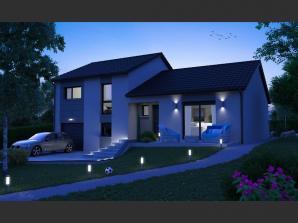 Maison neuve à Pommérieux (57420)<span class='prix'> 249000 €</span> 249000