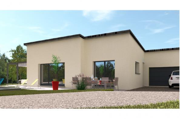 Modèle de maison PP129_P1850V8 3 chambres  : Photo 1