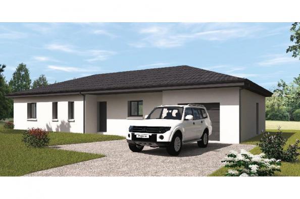 Modèle de maison PP115_P2040 3 chambres  : Photo 1
